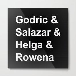 HP Founders  Metal Print