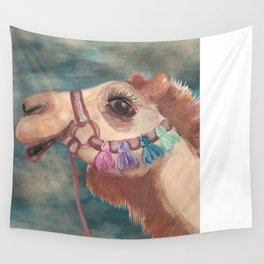 Michael's First Christmas, Camel Wall Tapestry