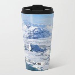 Bird in Iceland Travel Mug