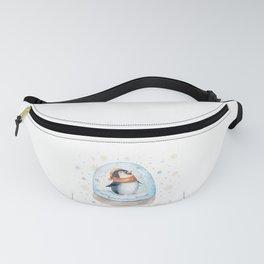 Penguin Snow globe Fanny Pack