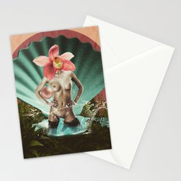Quiverish Orchid Pearl Stationery Cards