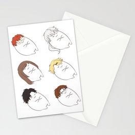 suya mystic messenger Stationery Cards