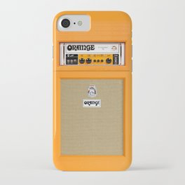 Bright Orange color amplifier amp iPhone Case