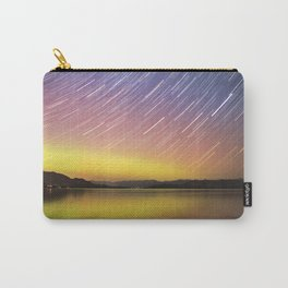 Aurora at Flat Head Lake Carry-All Pouch