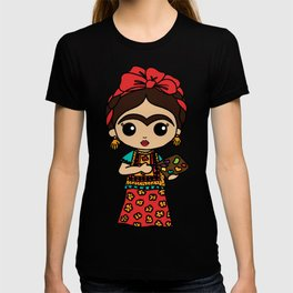 Frida Painting Reality T-shirt