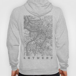 Antwerp Map Line Hoody