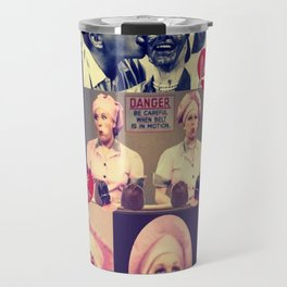 RETRO LUCY COLLAGE Travel Mug