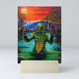 Creature from the black lagoon Mini Art Print