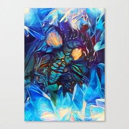 Blue Dragon Canvas Print
