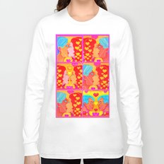 Forms of Love Quilt Long Sleeve T-shirt