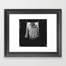 Boy's Work Framed Art Print