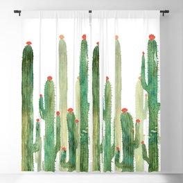 Cactus Four Blackout Curtain