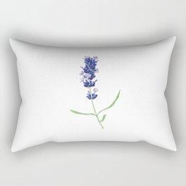 Lavender Flower Rectangular Pillow