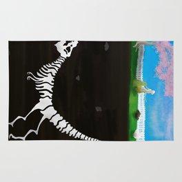 Bones Below Innocence Rug