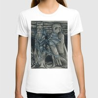 hunting T-shirts featuring Hunting by GLR67