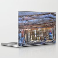 junk food Laptop & iPad Skins featuring Junk by Kent Moody
