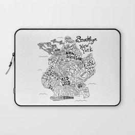 Brooklyn Map Laptop Sleeve