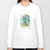 neverland Long Sleeve T-shirts featuring Follow me to Neverland by Sybille Sterk