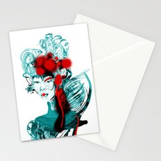 Japanese Girl Stationery Cards