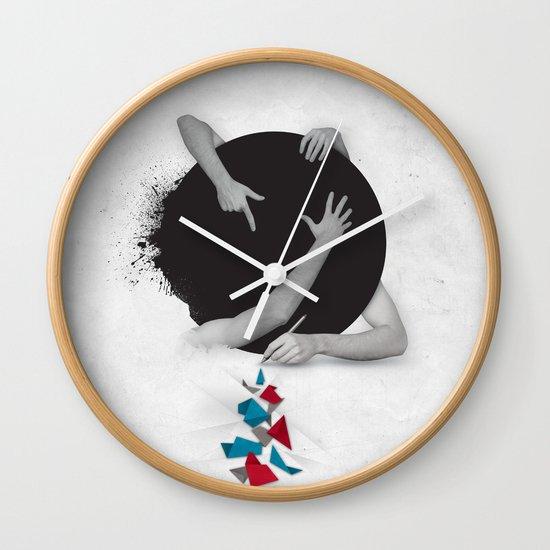 Something in Progress Wall Clock
