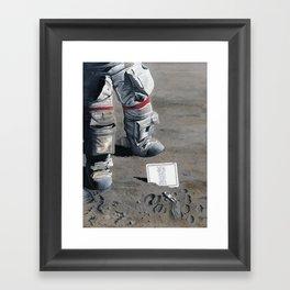 Moon Memorial Framed Art Print