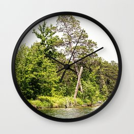 Lake Itasca - Minnesota, USA 13 Wall Clock