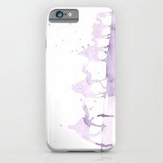 Watercolor landscape illustration_Sahara Slim Case iPhone 6s