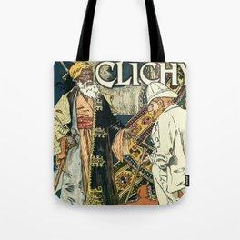 A la Place Clichy Paris 1891 Tote Bag