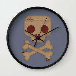 Paper Pirate Wall Clock