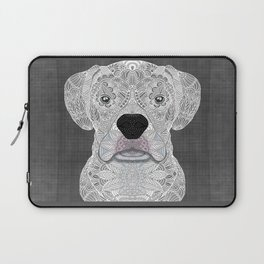 White Boxer Laptop Sleeve