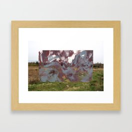 Stigmata Martyr Framed Art Print