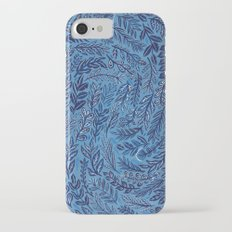Blue Branches iPhone 7 Slim Case