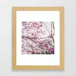 Pastel Spring - In memory of Makenzie Framed Art Print