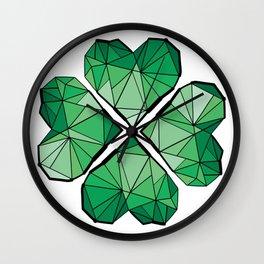 Geometrick lucky charm Wall Clock