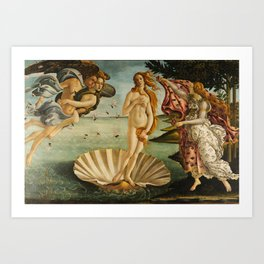 The Birth Of Venus Painting Sandro Botticelli Art Print