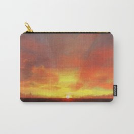 Painted Sunset Carry-All Pouch