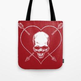 Eros & Thanatos (Joli Rouge Red Flag) Tote Bag