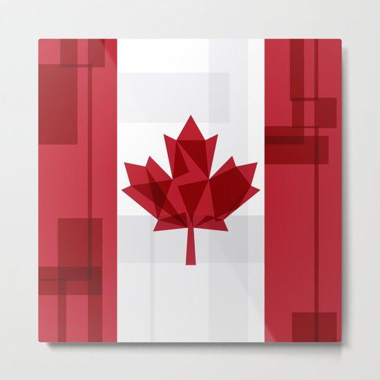 O Canada Metal Print