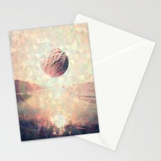 Triangle Sun Stationery Cards
