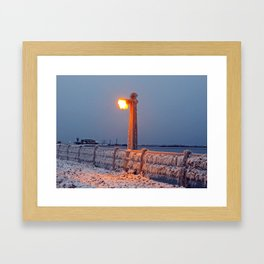The Chill is On Framed Art Print