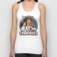 tank girl Tank Tops featuring Tank Girl by the Artisan Rogue