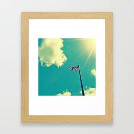 """""""God Bless America"""" Framed Art Print"""