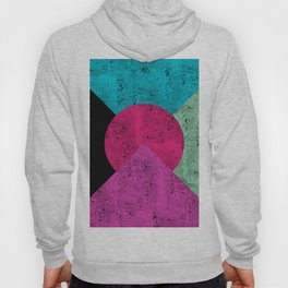 Colorful Abstract Geometric Background Hoody