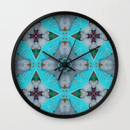 Aqua Motion Four Pointed Stars Wall Clock