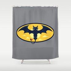 Nightwing Shower Curtain