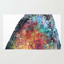 Geode Luster Rug