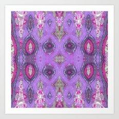 Fancy Lavender Art Print