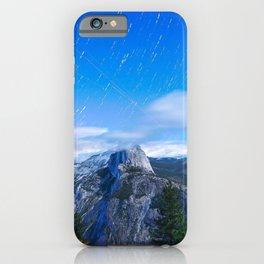 Mountain sky long exposure iPhone Case