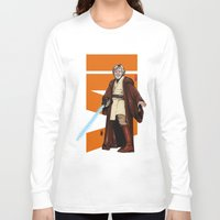 jedi Long Sleeve T-shirts featuring Old jedi  by Akyanyme