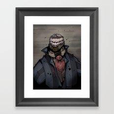 Best dressed monster Framed Art Print
